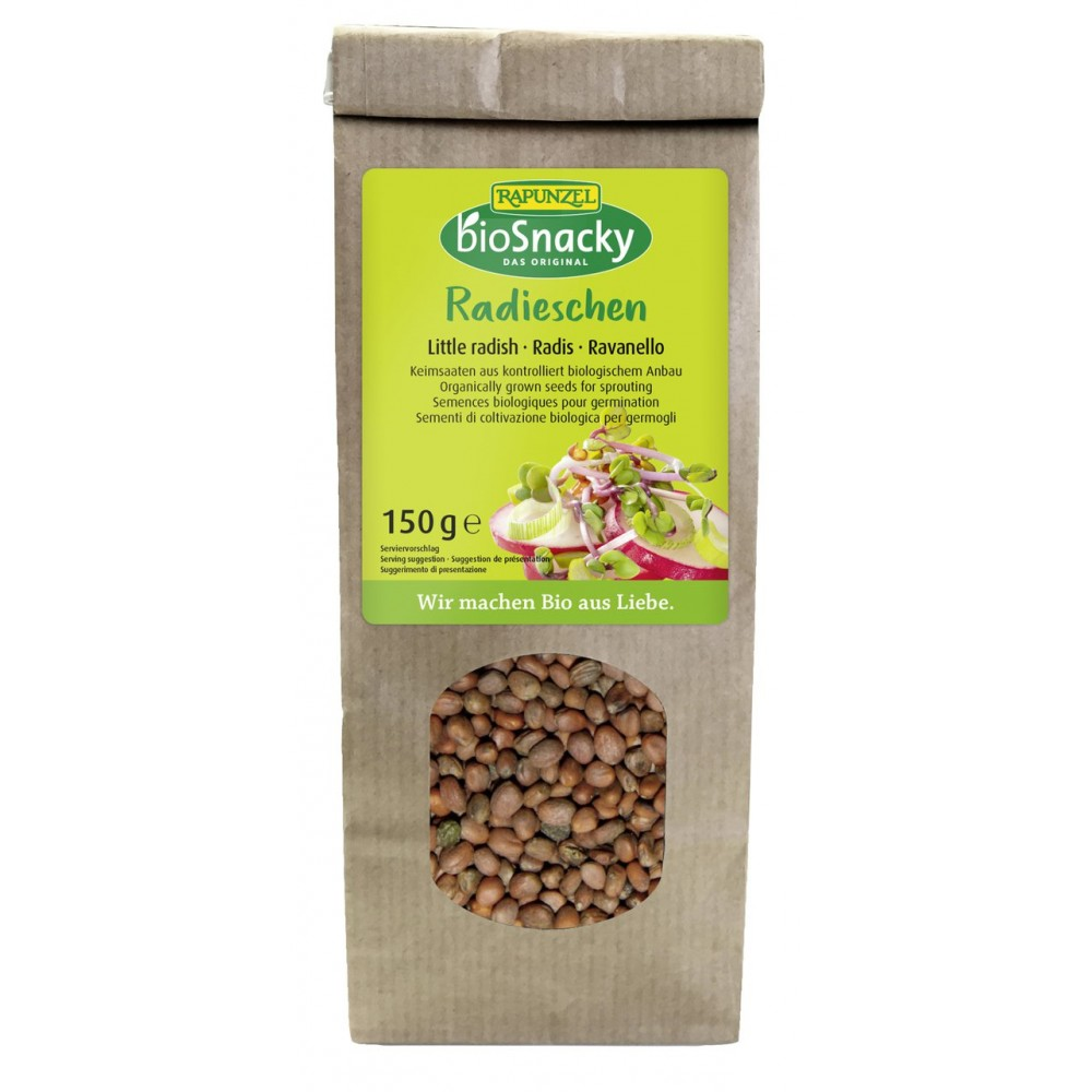Seminte ecologice de ridiche pentru germinat