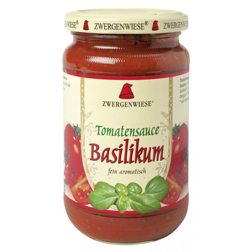 Sos bio de tomate cu busuioc