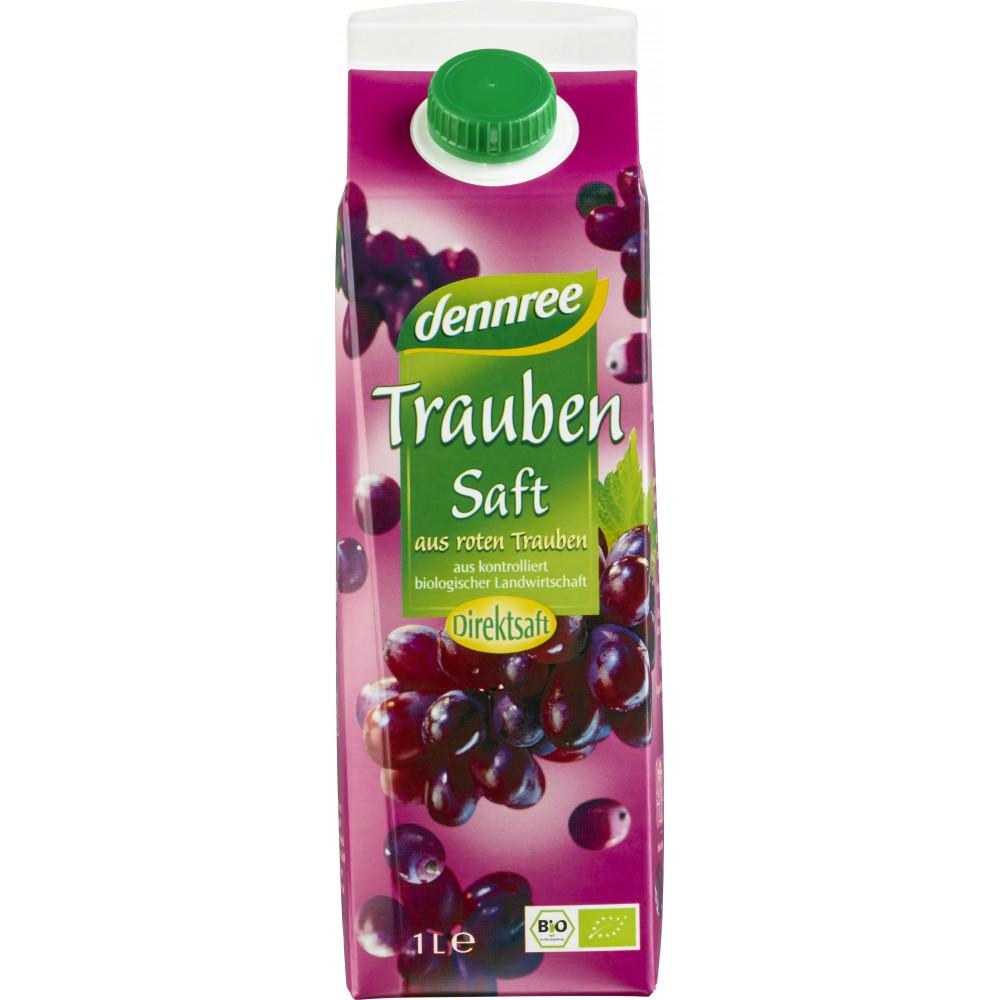 Suc de struguri rosii bio