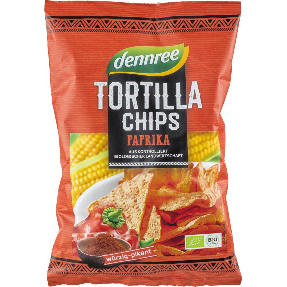 Tortilla chips cu ardei eco