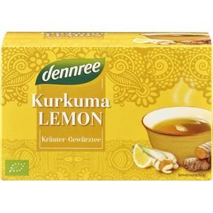 Ceai curcuma si lamaie bio