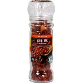 Chilli intregi in rasnita de sticla
