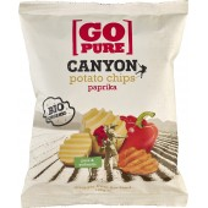 Chips-uri Canyon din cartofi cu ardei bio
