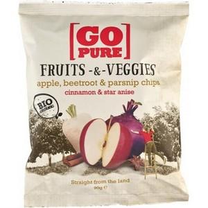 Chipsuri din fructe si legume cu anason si scortisoara