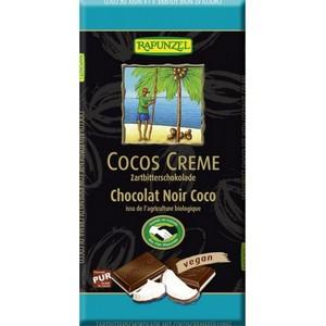 Ciocolata amaruie cu umplutura de crema de cocos