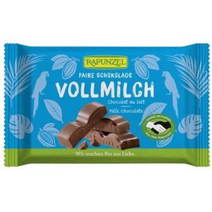 Ciocolata Bio Cristallino cu lapte integral HIH