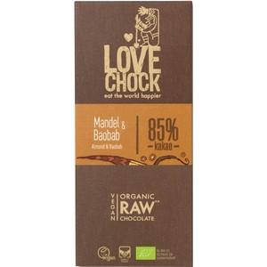 Ciocolata RAW VEGANA cu migdale si baobab