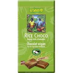 Ciocolata vegana cu lapte de orez bio