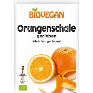 Coaja de portocala rasa bio