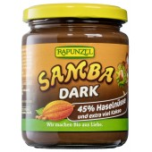 Crema de ciocolata Bio Samba dark