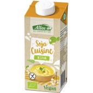 Crema de soia lichida pentru gatit