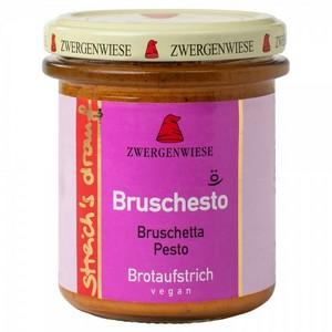 Crema tartinabila vegetala Bruschesto cu bruscheta si pesto