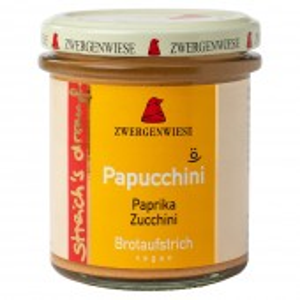 Crema tartinabila vegetala Papucchini cu ardei si zucchini