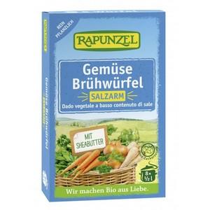 Cuburi de supa de legume bio cu putina sare