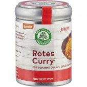 Curry rosu pentru orez, legume si carne bio