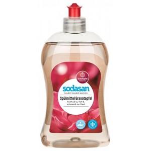 Detergent lichid cu rodie pentru vase sodasan