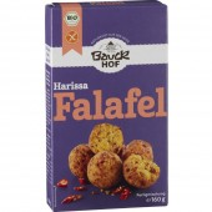 Falafel Harissa cu ardei și chili