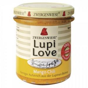 Lupi Love crema tartinabila din lupin cu mango si chilli