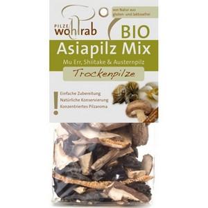 Mix de ciuperci asiatice bio deshidratate