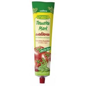 Pasta de tomate bio Mediteraneana, in tub