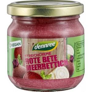 Pate bio vegetal cu sfecla rosie si hrean