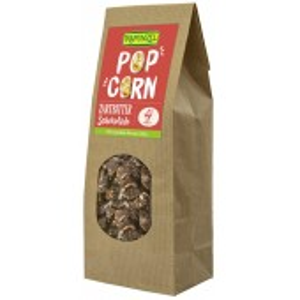 Popcorn bio cu ciocolata amaruie
