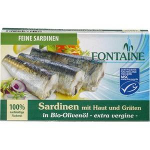 Sardine in ulei bio de masline