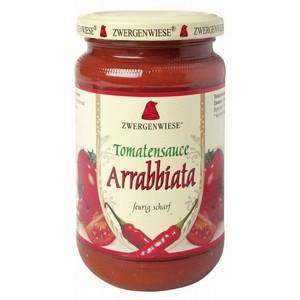 Sos bio de tomate Arrabbiata cu ardei iute