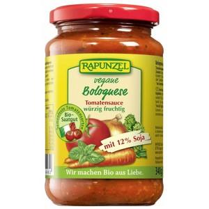 Sos de tomate Bolognese vegetarian cu soia