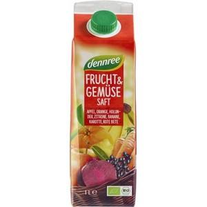 Suc rosu bio de fructe si legume