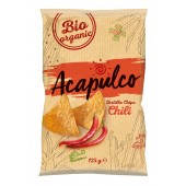 Tortilla bio chips cu chili