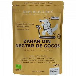 Zahar din nectar de cocos ecologic pur